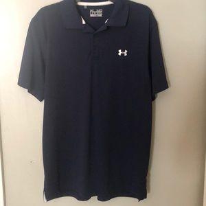 Under Armour Navy short sleeve shirt